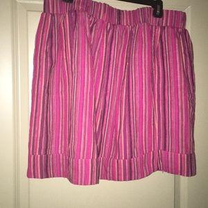 Dresses & Skirts - Pink stripped skirt